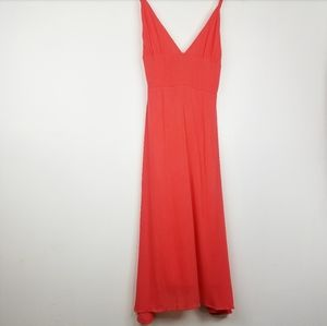 Know One Cares | Coral Midi Summer Dress Sm
